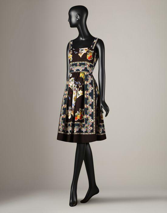 Sicily Print Sun Dress from Dolce&Gabbana